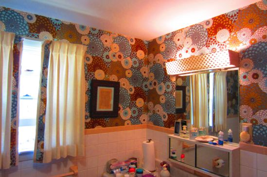 "This sunny bathroom in Gramma's house has remained virtually unchanged since Daria and I first sang ""Fernando"" into our hairbrushes."