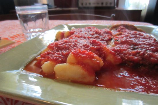 I made terrible gnocchi! From scratch!