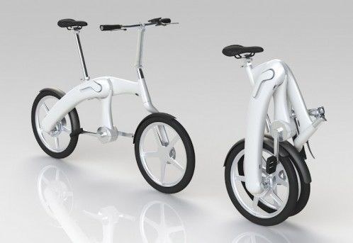 Mando Footloose chainless folding bike. I love it more than chocolate.