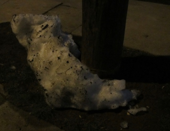 Go home, snow, you're drunk.