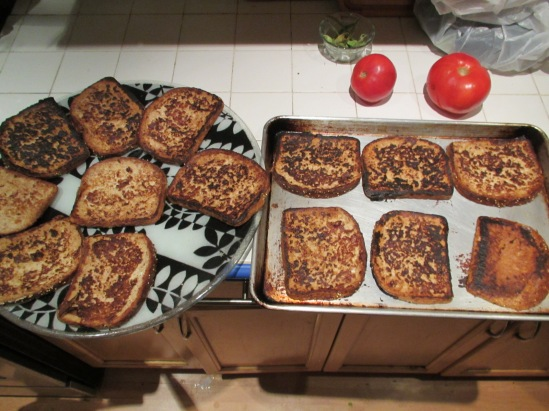 Prank french toast is still a complete breakfast.